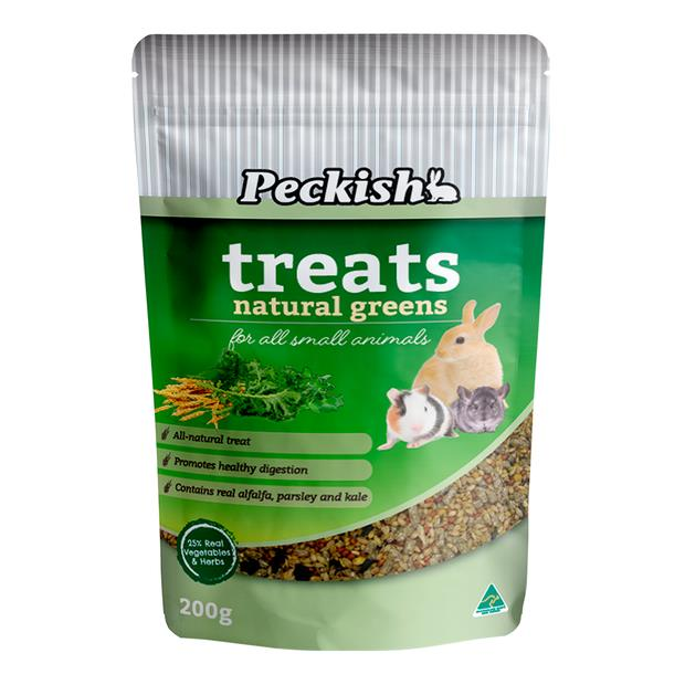 Peckish Small Animal Natural Greens Treats 200g Pet: Small Pet Category: Small Animal Supplies  Size:...