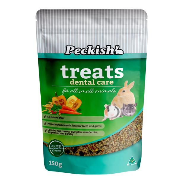 Peckish Small Animal Health Treats Dental Care 150g Pet: Small Pet Category: Small Animal Supplies ...