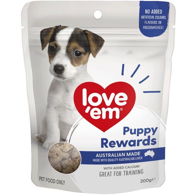 Love Em Liver Pup Rewards 200g Pet: Dog Category: Dog Supplies  Size: 0.2kg  Rich Description: Show...