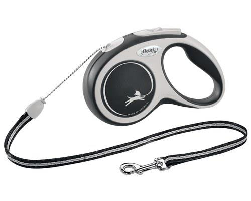 FLEXI COMFORT CORD SML 5M BLACKYou won't want to go anywhere without the Flexi Comfort Tape leash. Easy...