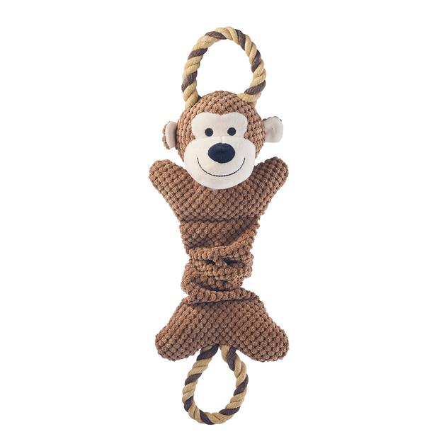 Paws For Life Tug Monkey Each Pet: Dog Category: Dog Supplies  Size: 0.1kg  Rich Description: Paws for...