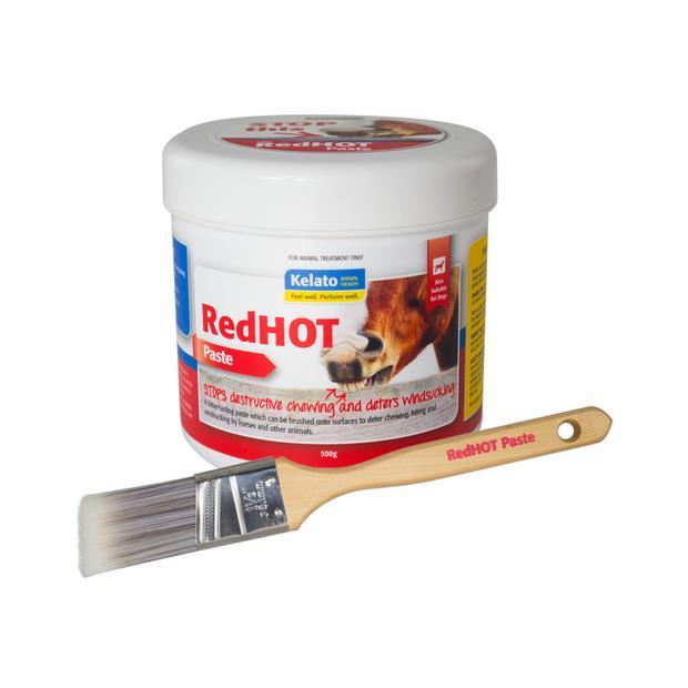 Kelato Red Hot Paste 500g Pet: Horse Size: 0.6kg  Rich Description: Suitable for horses who chew...