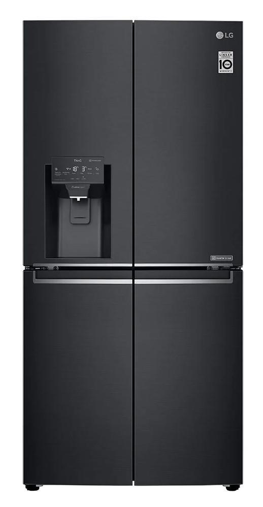 310L/250L Fridge/Freezer capacity Slim Width 835mm to Fit 850mm Alcove Quick & Handy Non Plumbed Ice &...