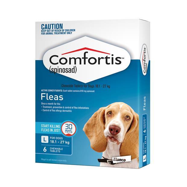 Comfortis Tab 810mg Blue 6 Pack Pet: Dog Category: Dog Supplies  Size: 0.1kg  Rich Description:...