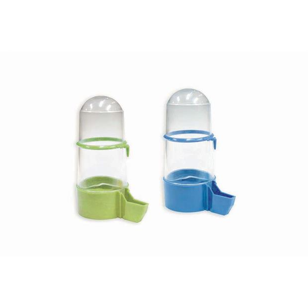 Kazoo Outside Jumbo Feeder Green Purple Each Pet: Bird Category: Bird Supplies  Size: 0.2kg  Rich...