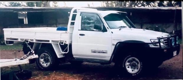 2006 White Nissan Patrol Ute, 478:XGM, last seen Clifton area 03/02/21. Black B.Bar, S.Steps & B,Rails.
