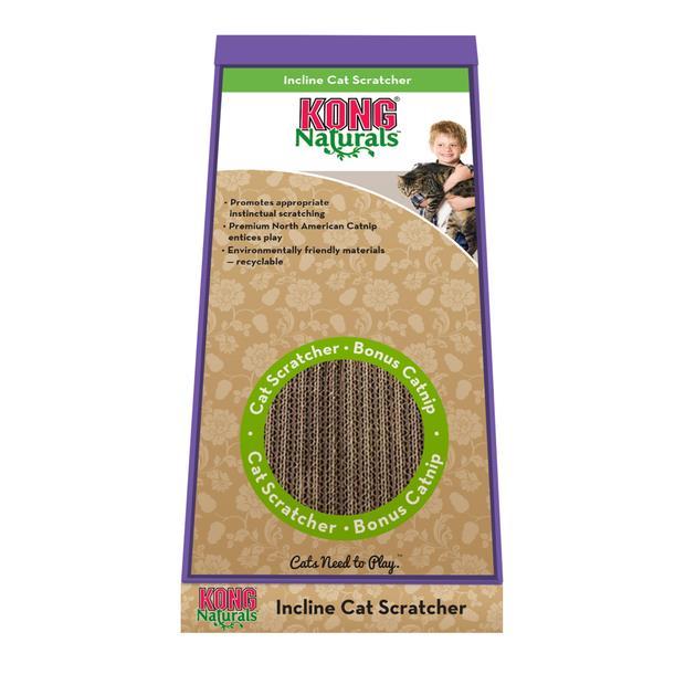 Kong Cat Naturals Scratcher Incline Each Pet: Cat Category: Cat Supplies  Size: 0.5kg  Rich...
