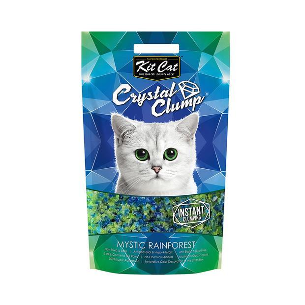 Kit Cat Litter Clumping Crystal Mystic Rainforest 1.8kg Pet: Cat Category: Cat Supplies  Size: 1.8kg...