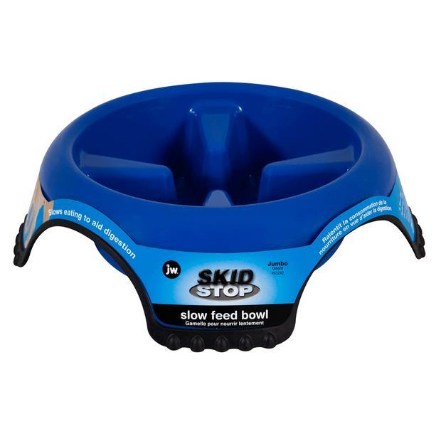 Jw Pet Skid Stop Slow Feed Bowl Medium Pet: Dog Category: Dog Supplies  Size: 0.7kg  Rich Description:...