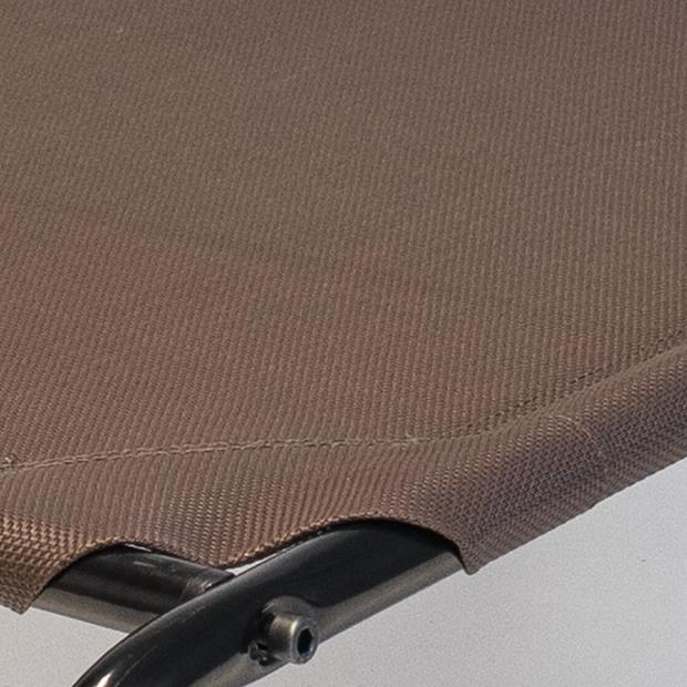 Paws For Life Elevated Bed Replacement Cover Brown Small Pet: Dog Category: Dog Supplies  Size: 0.4kg...