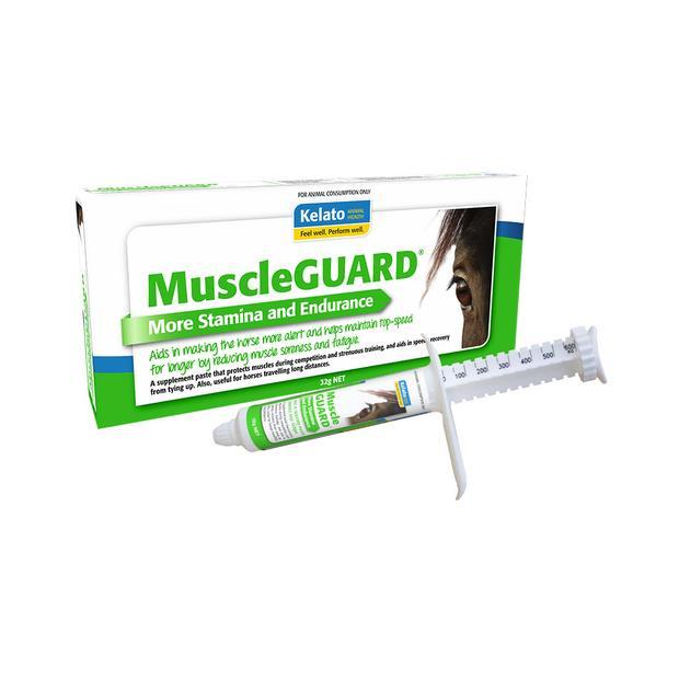 Kelato Muscle Guard Paste 32g Pet: Horse Size: 0.1kg  Rich Description: Suitable for performance horses...