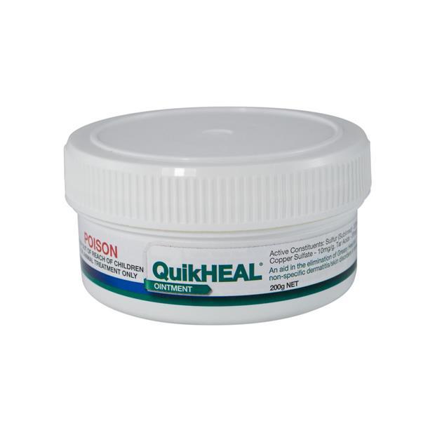 Kelato Quikheal Greasy Heel Ointment 200g Pet: Horse Size: 0.3kg  Rich Description: Suitable for horses...