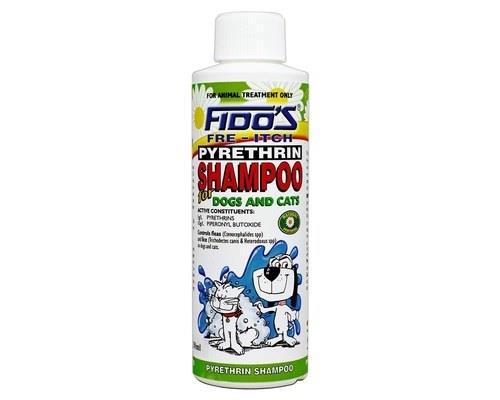 FIDOS PYRETHRIN SHAMPOO 250MLFido's Pyrethrin Shampoo is a soap-free natural shampoo that is used...