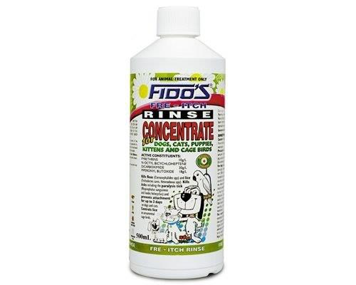FIDOS FRE-ITCH RINSE CONCENTRATE 500MLFido's Rinse Concentrate is used for the treatment of...