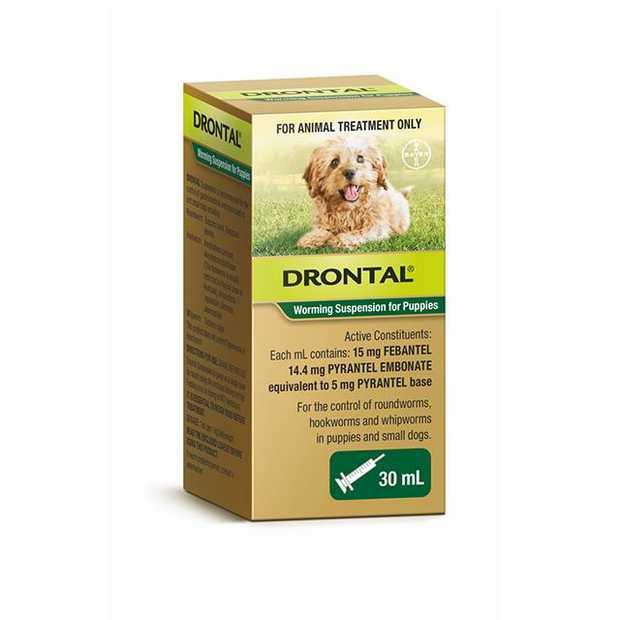 Drontal Puppy Suspension 30ml Pet: Dog Category: Dog Supplies  Size: 0.1kg  Rich Description: Drontal...