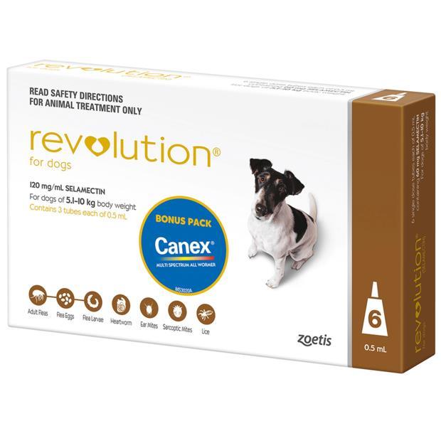 Revolution Dog Brown 6 Pack Pet: Dog Category: Dog Supplies  Size: 0.2kg  Rich Description: Revolution...