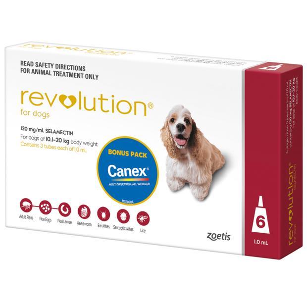 Revolution Dog Red 6 Pack Pet: Dog Category: Dog Supplies  Size: 0.2kg  Rich Description: Revolution is...