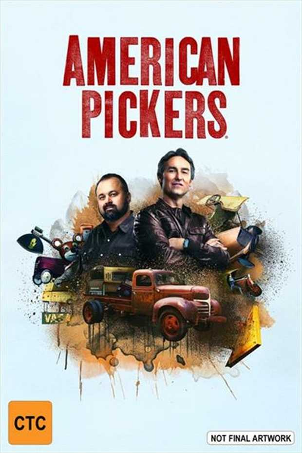 One man's trash, three men's treasure!Professional pickers Mike Wolfe and Frank Fritz are on a...