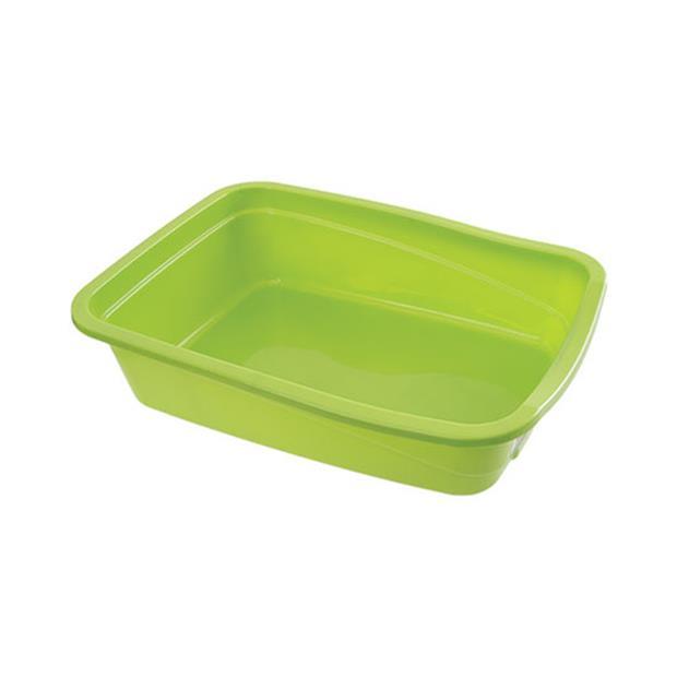 Poowee Cat Litter Tray Large Pet: Cat Category: Cat Supplies  Size: 0.7kg  Rich Description: Poowee Cat...