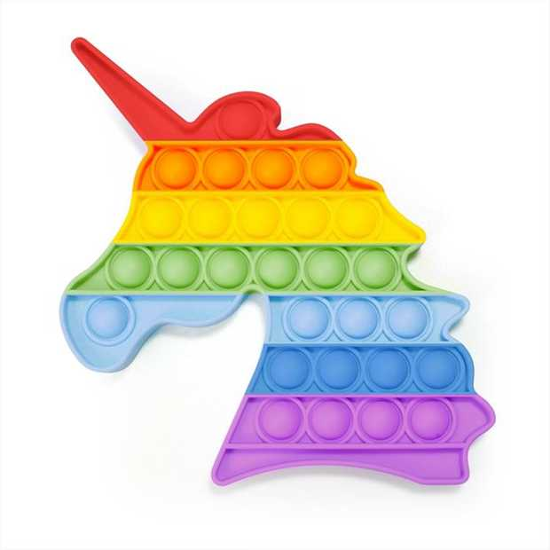 POP IT! Then flip it over and pop it again!  The latest craze is here! These addictive, silicone...