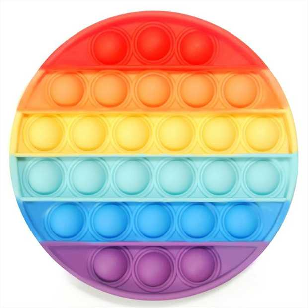 POP IT! Then flip it over and pop it again!    The latest craze is here! These addictive...