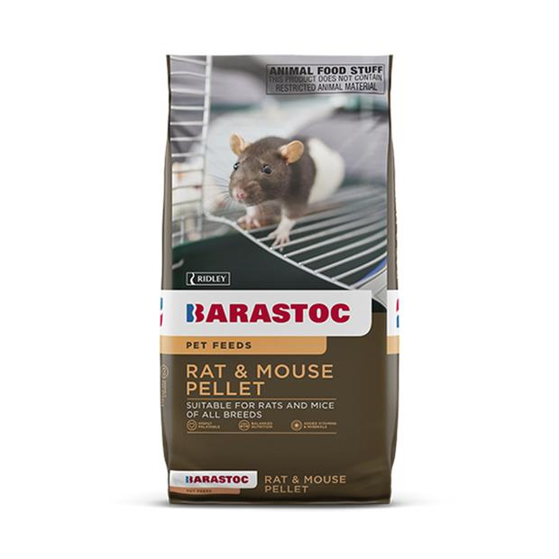 Barastoc Rat And Mouse 20kg Pet: Small Pet Category: Small Animal Supplies  Size: 20kg  Rich...