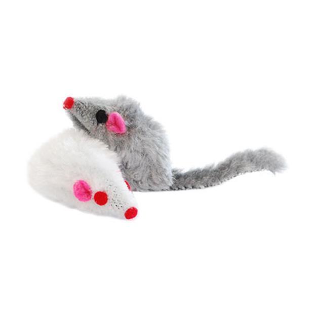 Feline Care Cat Toy Mouse 2 Pack Pet: Cat Category: Cat Supplies  Size: 0kg Colour: Grey  Rich...