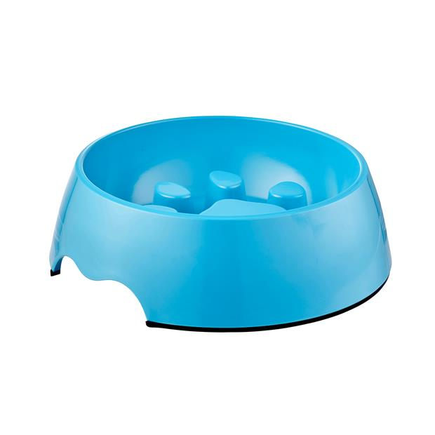 Paws For Life Slow Bowl Blue 550ml Pet: Dog Category: Dog Supplies  Size: 0.4kg Colour: Blue Material:...