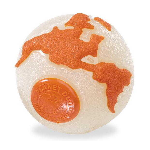Planet Dog Orbee Ball Orange Glow Medium Pet: Dog Category: Dog Supplies  Size: 0.1kg Colour: Orange...