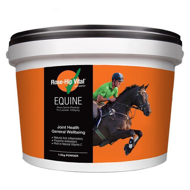 Rose Hip Vital Equine 1.5kg Pet: Horse Size: 1.6kg  Rich Description: Suitable for horses with joint...