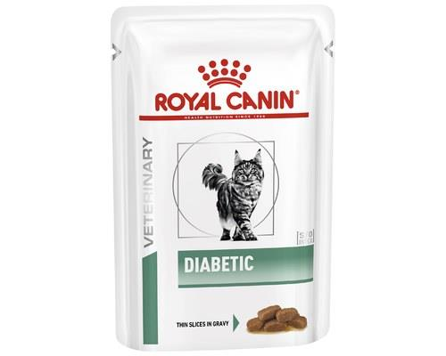ROYAL CANIN VETERINARY DIET DIABETIC POUCH 85GWith Royal Canin's scientifically formulated diet you can...