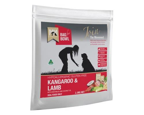 Meals For Mutts Kangaroo and Lamb Gluten Free Dog Food, 2.5kgAs a natural and organic pet food, Meals...