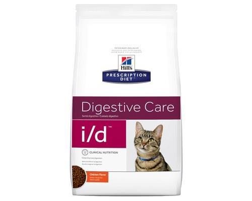 Hill's Prescription Diet Cat Food, I/D Feline Digestive Care, 1.8kgGastrointestinal cat food from...