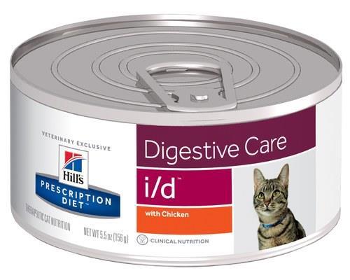Hill's Prescription Diet Cat Food, I/D Feline Digestive Care, 156gDigestive Care cat food from Hill's...