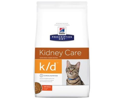 Hill's Prescription Diet Cat Food, K/D Feline Renal Health, 3.85kgThis kidney health cat food from...