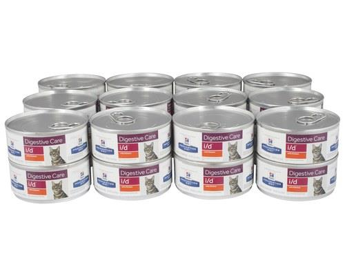 Hill's Prescription Diet Cat Food, I/D Feline Digestive Care, 156g x 24 CansGastrointestinal cat food...
