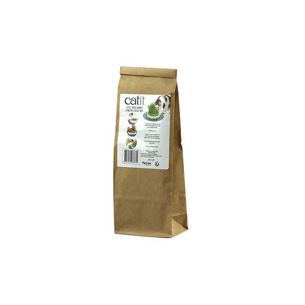 Catit Senses Grass Planter Refill Each Pet: Cat Category: Cat Supplies  Size: 0.1kg  Rich Description:...