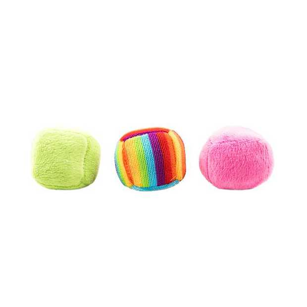 Trouble And Trix Bliss Balls 3 Pack Pet: Cat Category: Cat Supplies  Size: 0kg Colour: Green  Rich...
