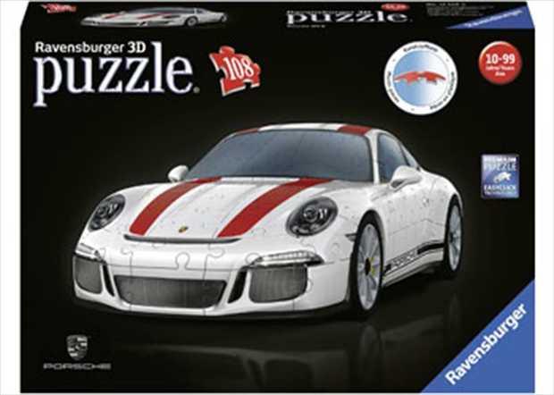 Ravensburger Porsche 911 R - 12528 - 108 Piece 3D Jigsaw Puzzle 3D puzzle of the limited edition...