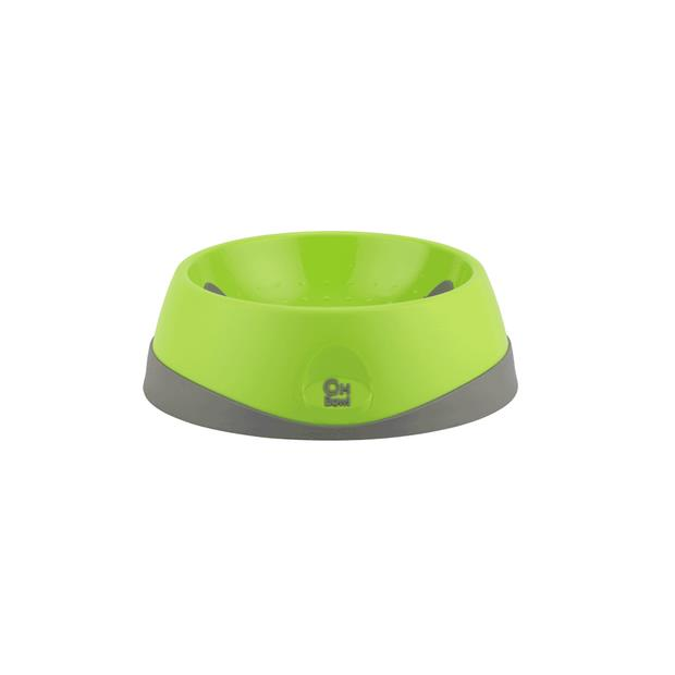 Lickimat Oh Bowl Green Medium Pet: Dog Category: Dog Supplies  Size: 0.3kg Colour: Green Material:...