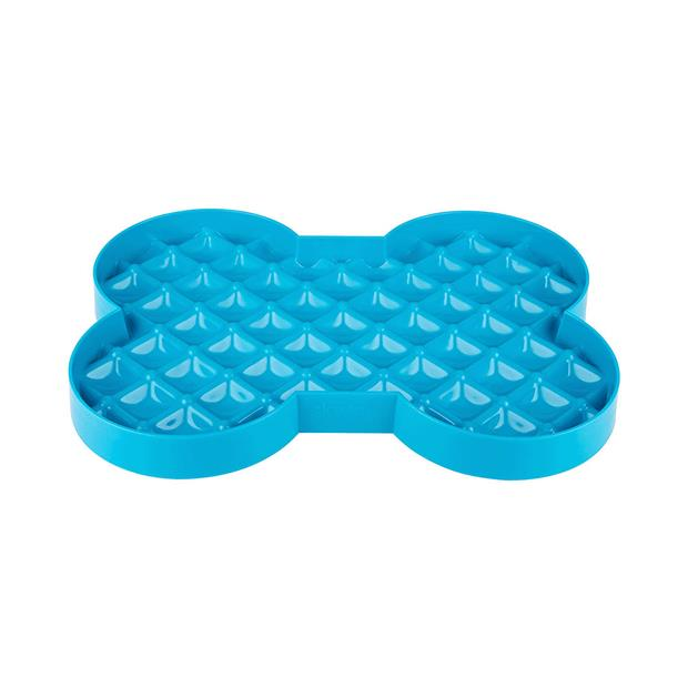 Lickimat Slodog Turquoise Each Pet: Dog Category: Dog Supplies  Size: 0.3kg Colour: Blue Material:...