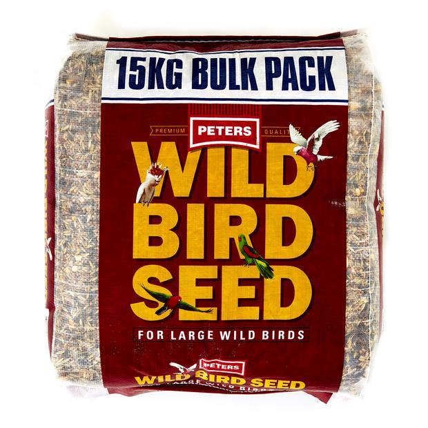 Peters Wild Bird Seed Large Birds 15kg Pet: Bird Category: Bird Supplies  Size: 15kg  Rich Description:...
