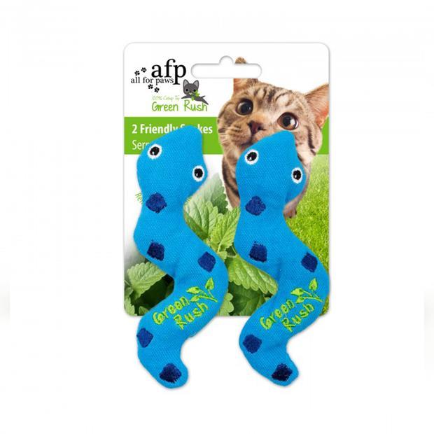 Afp Green Rush Silly Snakes Cat Toy Each Pet: Cat Category: Cat Supplies  Size: 0kg  Rich Description:...