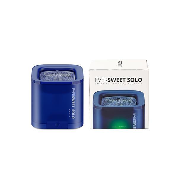 Petkit Solo Water Fountain Blue 1.8L Pet: Dog Category: Dog Supplies  Size: 0.8kg Colour: Blue  Rich...