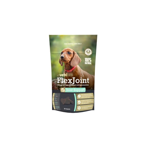 Vetafarm Lovebites Flexjoint Chews 20pk Pet: Dog Category: Dog Supplies  Size: 0.1kg  Rich Description:...