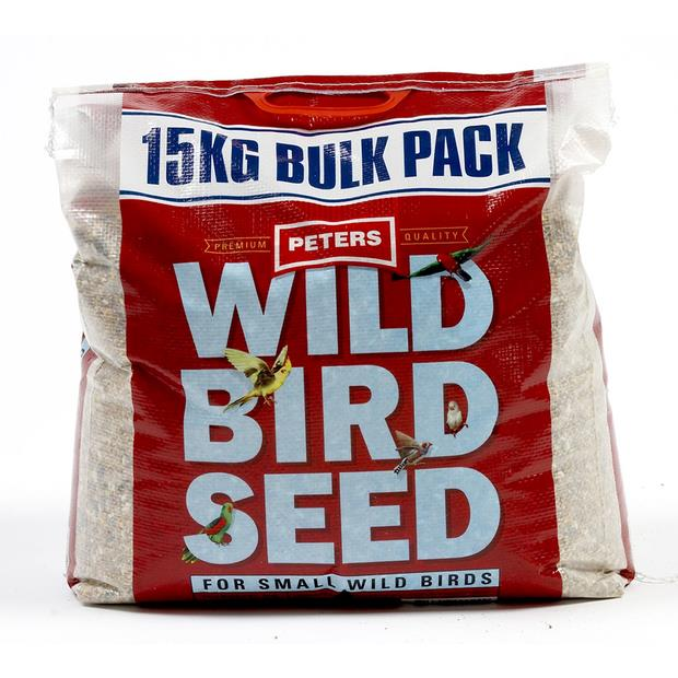 Peters Wild Bird Seed Small Birds 15kg Pet: Bird Category: Bird Supplies  Size: 15kg  Rich Description:...