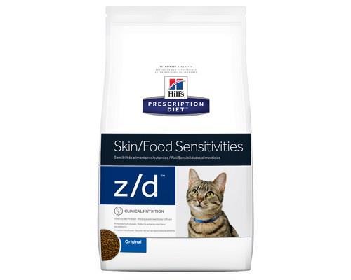 HILLS PRESCRIPTION DIET FELINE Z/D LOW ALLERGEN 1.8KGFood sensitivities can be a serious problem for...