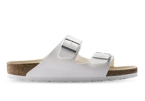 The Arizona Birko Flor is classic two-strap staple by Birkenstock. Designed with a softer foodbed that...