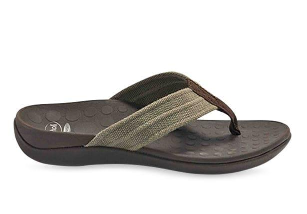 The Orthaheel Whack casual thongs blend Podiatry Designed Orthaheel technology to deliver all day...