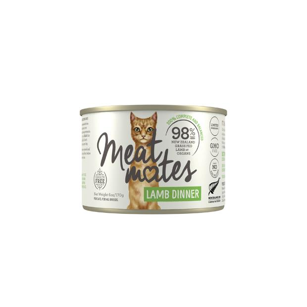 Meat Mates Grain Free Lamb Dinner Wet Cat Food Cans 24 X 170g Pet: Cat Category: Cat Supplies  Size:...